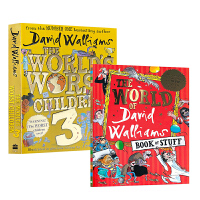 大卫・威廉姆斯2册 The World of David Walliams Book of Stuff/worst c