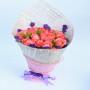 鲜花速递 19朵玫瑰花束情人节送女友恋人生日礼物 节日鲜花 全国同城花店上门配送玫瑰百合鲜花