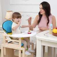 【满减优惠】实木儿童餐椅��翰鸵尾投喙δ艹苑共妥酪巫有『⒆�椅婴儿宝宝餐椅