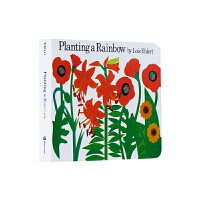 【78�x3】Planting a Rainbow 英文原版�L本 �N彩虹�板�� Lois Ehlert �敲籼m�和��L本12