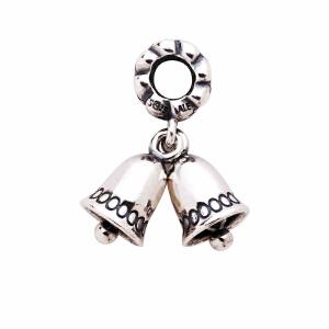 Pandora潘多拉绝版925银圣诞铃铛吊坠手链串饰791230