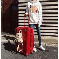 铝框拉杆箱女行李箱万向轮24寸复古男旅行箱26小清新密码箱29