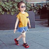 女童凉鞋儿童运动凉鞋男童露趾沙滩鞋夏款百搭童鞋