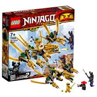 【当当自营】乐高LEGO幻影忍者系列 70666 幻影忍者黄金飞龙