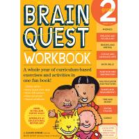 Brain Quest Workbook: Grade 2 智力开发系列:2年级练习册 ISBN97807611491