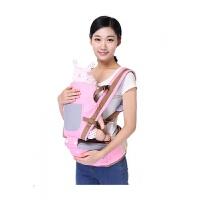 布兜妈妈四季多功能婴儿背带新生儿童宝宝抱婴腰凳前抱式背凳 均码
