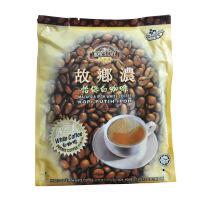 故乡浓怡保白咖啡 马来西亚进口 三合一原味香浓 速溶咖啡 600g
