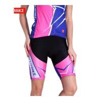 夏季骑行裤女山地车自行车骑行短裤单车骑行裤女士高弹透气