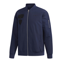adidas neo阿迪休闲2018新款男子舒适保暖运动外套棉服DM4208