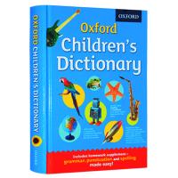牛津小学英语字典 英文原版工具书 Oxford Children's Dictionary 小学生专用 彩色插图字典 英