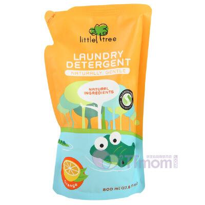 小树苗婴儿甜橙舒敏洗衣液 500ml袋装