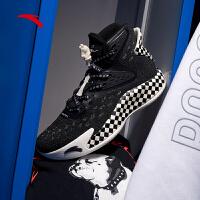 【满399-80】安踏篮球鞋男鞋2021新款KT5汤普森好莱坞高帮运动鞋112011101