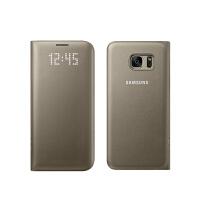 三星S7 edge原装皮套S7智能保护套LED翻盖手机壳G9300 g9350休眠