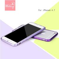 【全国包邮】8thdays 苹果6金属边框手机壳iphone6女款i6保护套 简