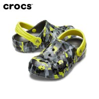 【领券立减100】CROCS卡洛驰 春夏 儿童 洞洞鞋凉鞋 拖鞋|205484 贝雅花纹小克骆格