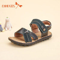 红蜻蜓童鞋个性星星金属装饰百搭男童儿童凉鞋511L62301X