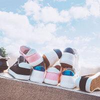 韩版系带小白鞋女百搭休闲帆布鞋女学生平底板鞋ulzzang单鞋