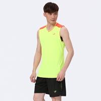 新款夏季无袖羽毛球套装男款速干坎肩球衣训练服排球服队服 X