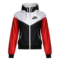 Nike耐克2018年新款女子运动休闲防风夹克外套AJ7422-100