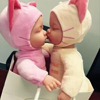 兔子仿真毛绒玩具婴儿电动唱歌睡眠安抚娃娃睡萌宝公仔娃娃