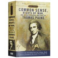 英文原版哲学思想书籍 常识Common Sense Rights of Man 美国危机 人的权利 托马斯潘恩作品 可