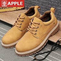 苹果APPLE耐磨防滑男鞋户外休闲男潮鞋工装潮流