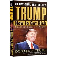 现货正版 Trump 川普 特朗普 如何致富 英文原版 How to Get Rich 美国总统特朗普 英文版人物传记