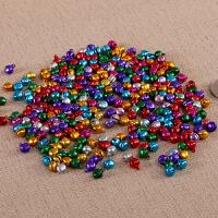 彩色小铃铛 圣诞小配件 小铃 手工材料 彩色铃铛一字铃铛 DIY手工饰品配件 铃铛