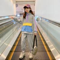 女童春装套装洋气儿童时髦衣服中大童运动两件套