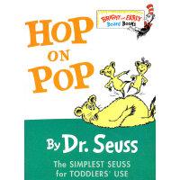Hop on Pop (B&E BD BK) 苏斯博士:在老爸身上跳来跳去(卡板书)9780375828379