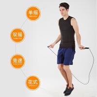 成人健身专业负重跳绳运动减肥男女通用健身减肥钢丝跳绳神