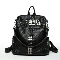 包包女新款潮韩版百搭双肩包背挎单双两用时尚女书包旅行背包