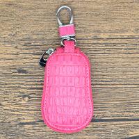 鳄鱼纹汽车钥匙包通用男女韩版车用锁匙包创意牛皮遥控钥匙保护套