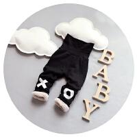 宝宝加绒裤子男童2016新款加厚保暖打底裤1-2-3岁婴儿高腰护肚子