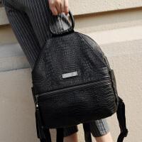 玛罗士 女包新款2017双肩包欧美时尚包包百搭休闲流苏背包多用学生包