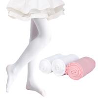 儿童连裤袜春秋季女童打底裤练功白色丝袜夏季薄款宝宝袜子舞蹈袜