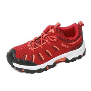 探路者童鞋 女童鞋户外低帮徒步童鞋