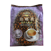 故乡浓怡保白咖啡 马来西亚原装进口 二合一 速溶咖啡 375g