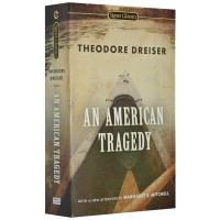 正版现货 美国悲剧 英文原版小说 An American Tragedy 全英文版原版经典文学小说书 进口英语书籍