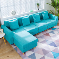 良木沙发宜家家居客厅整装布艺沙发小户型北欧沙发套装组合旗舰