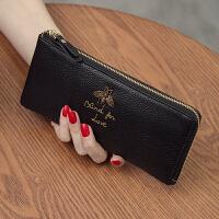 2018新款韩版长款女士钱包真皮手包手机钱夹头层牛皮拉链手拿包潮