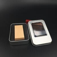 木质 U盘8GB 宣传礼品创意刻字logo优盘 biy个性定制upan正品包邮