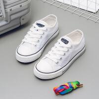儿童布鞋透气网鞋春夏男童板鞋女童帆布鞋春秋单鞋潮