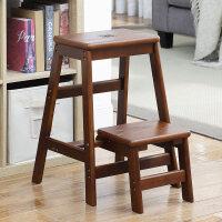 实木可折叠凳子家用高板凳多功能椅子创意两用换鞋凳梯凳 多功能梯凳/折叠桌