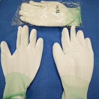 防静电PU手套 电子厂作业 涂胶薄 掌浸劳保防护用品 男女工作