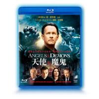 正版高清蓝光碟天使与魔鬼汤姆・汉克斯1080P蓝光电影dvd碟片光盘