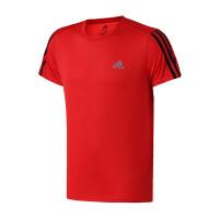 adidas阿迪达斯男子短袖T恤18新款climalite跑步清凉运动服DM1665