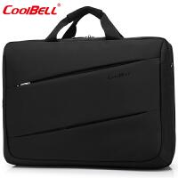 cool bell笔记本电脑包17英寸 大容量戴尔惠普游戏本手提单肩包17.3英寸笔记本包