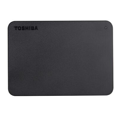 【当当正品店】东芝(TOSHIBA)移动硬盘 2T 新小黑A3系列 2TB 2.5英寸 USB3.0 移动硬盘2TB正品行货,全国联保,三年免费包换!!