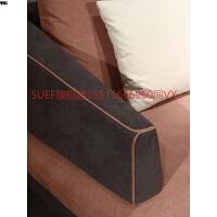 现代简约北欧沙发转角布艺沙发实木羽绒客厅贵妃整装家具组合 组合